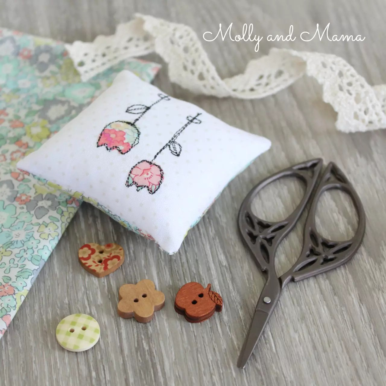 Zeriano Pin Cushion Sew Along