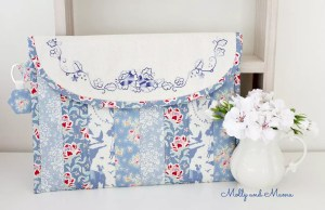 April's Tilda Club Project – Summer Rose Pouch