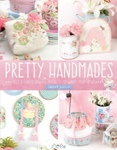 My first book is coming; 'Pretty Handmades'
