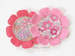 Sew a Felt Flower Coaster