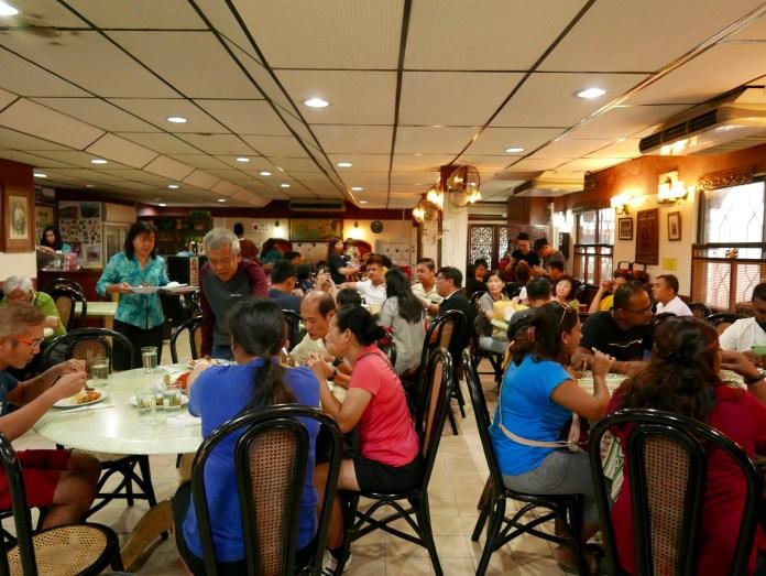 Nyonya Makko Restaurant, Melaka, Malaysia inside