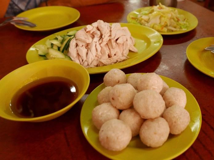 Chicken Rice Balls, Jonker Street, Melaka, Malaysia (Malacca)