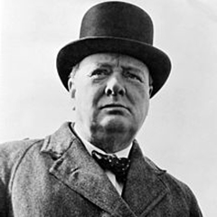 WINSTON CHURCHILL stay bipolar!