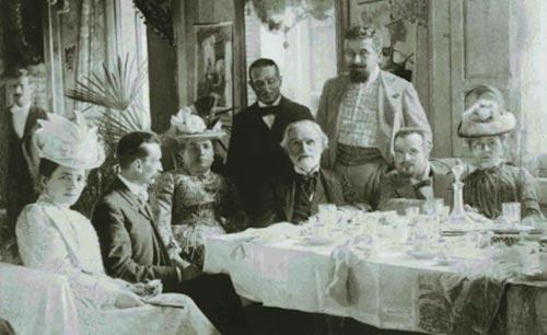 Giuseppe Verdi a tavola