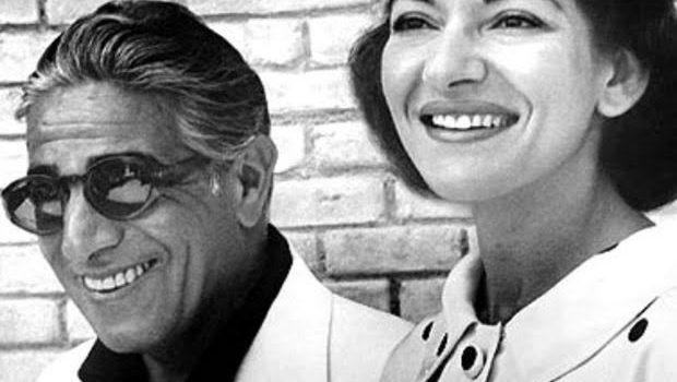 MARIA CALLAS& ARIS ONASSIS l'amore tragico