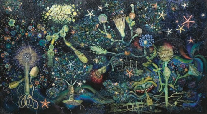 """""""The Grotto,"""" 2006, Miriam Wosk"""