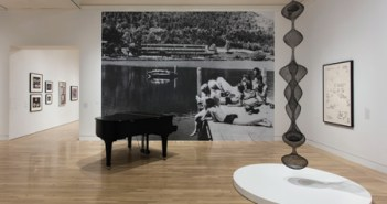 """Installation view: """"Leap Before You Look: Black Mountain College, 1933-1957"""" at the Hammer Museum, Los Angeles, Feb 21 – May 15, 2016. Photo: Brian Forrest, courtesy of the Hammer Museum"""