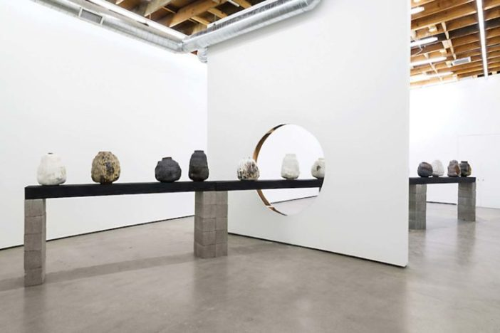 """Installation view: Adam Silverman, """"Ghosts"""" at Cherry and Martin"""