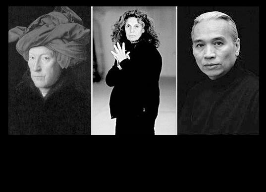 Jan van Eyck – Pat Steir – Liu Dan