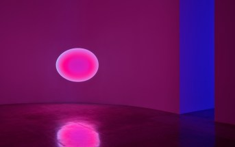 JamesTurrell installation view at Kayne Griffin Corcoran