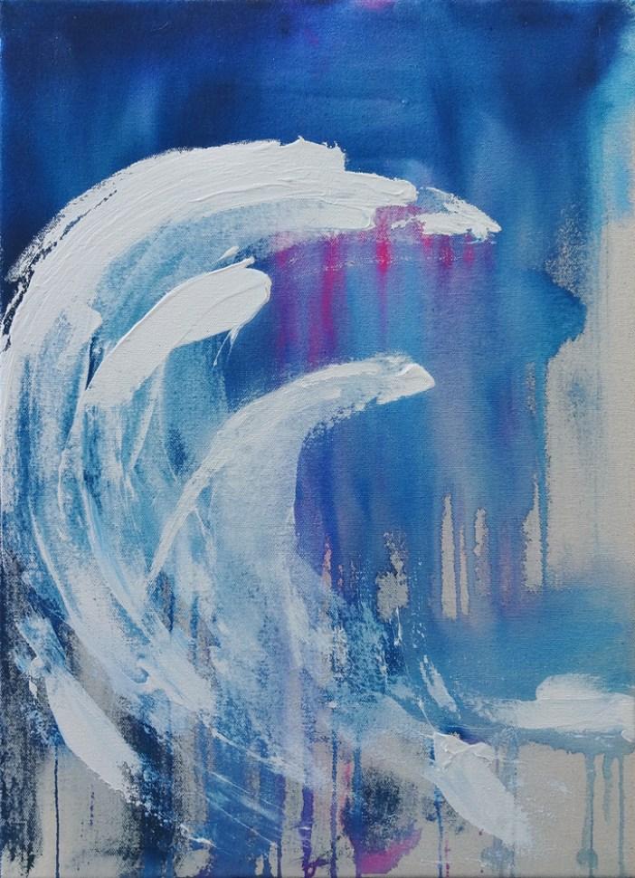 Cloud Study VI (Evening Waves), 2018