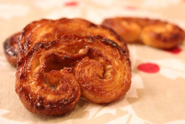 Gingersnap Palmiers | Toffee Bits & Chocolate Chips