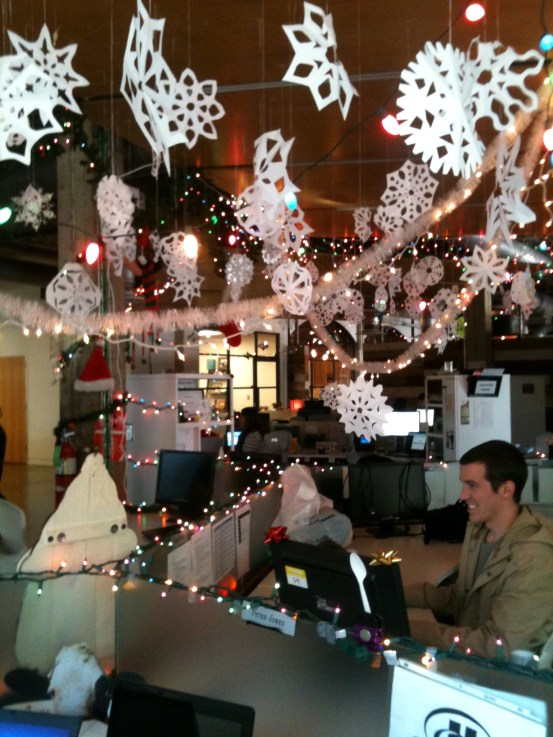 Office Holiday Decorations