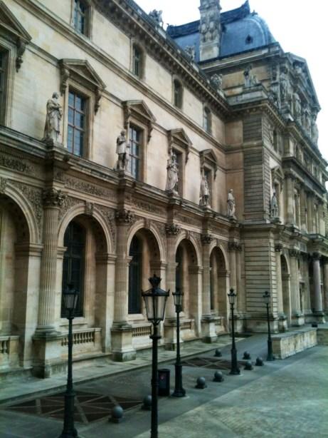 Louvre Outside 3-21-13