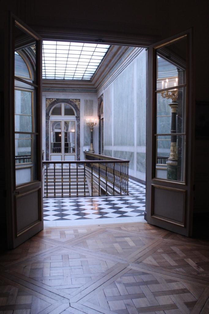 Versailles door view