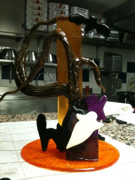 Halloween Sugar Sculpture
