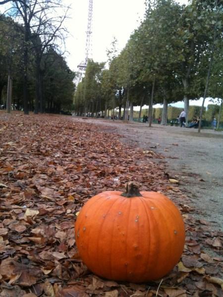 Jack O Lantern Pumpkin Paris