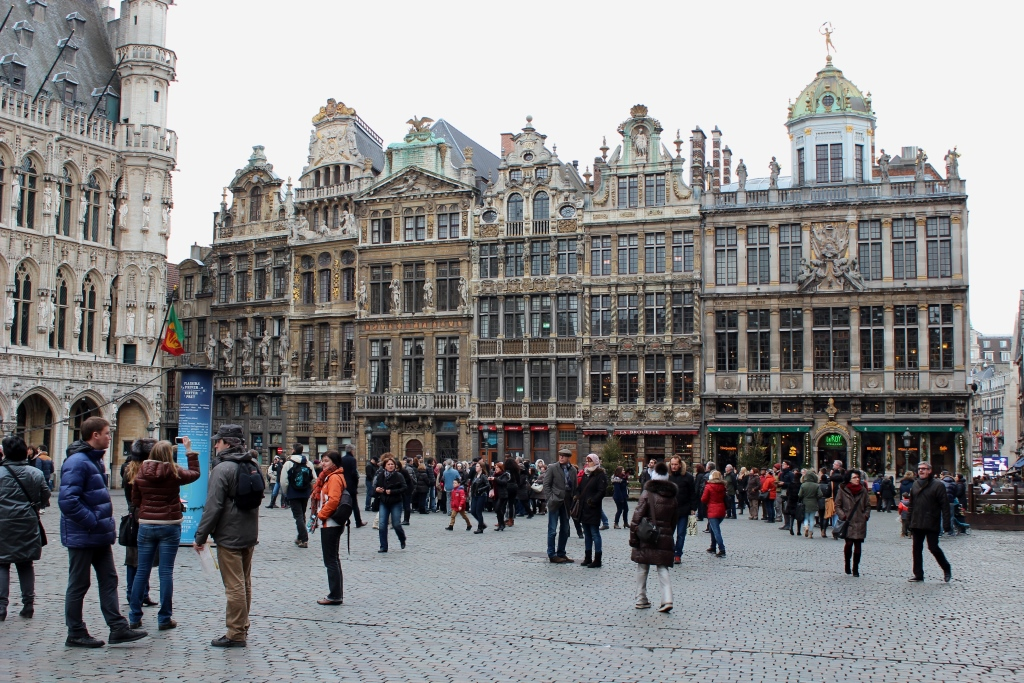 Grand Place: Brussels