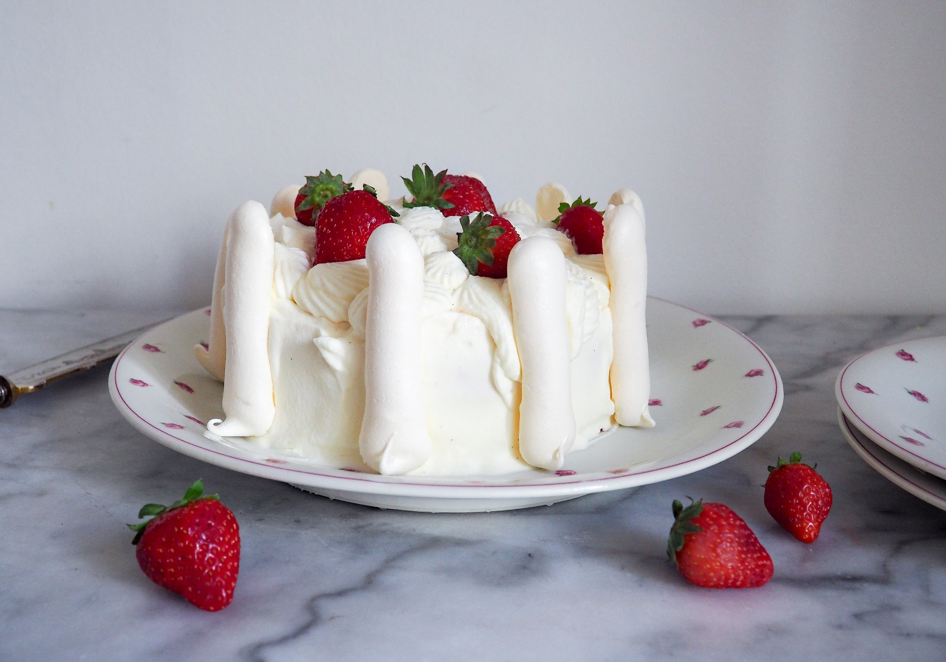 Ice Cream Cake à la Française