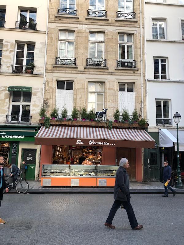 La Fermette fromagerie cheese shop in the 2nd Arrondissement paris