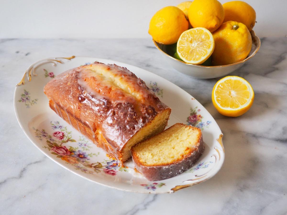 Quatre Quarts: Easy Glazed Lemon Cake