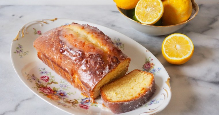 Quatre Quarts: Easy Glazed Lemon Cake