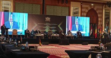 صورة اليوم المشاركون باجتماع رؤساء المحاكم الدستورية الإفريقية يزورون شرم الشيخ