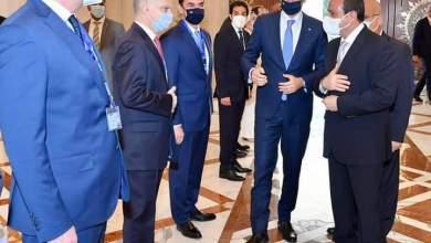 صورة الرئيس عبد الفتاح السيسي استقبل اليوم  كيرياكوس ميتسوتاكيس، رئيس وزراء