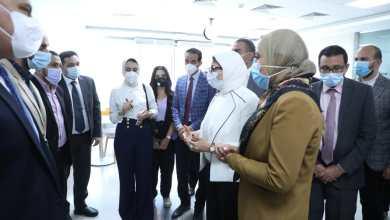 صورة وزيرة الصحة تتابع الاستعدادات النهائية للعمل بالمشروع القومي للتبرع بالبلازما