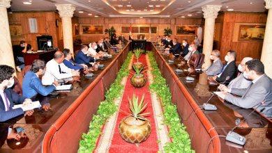 صورة محافظ الغربية يجتمع برؤساء وممثلي البنوك لتسويق الأصول المملوكة للمحافظة