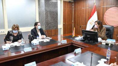 صورة وزيرة التخطيط تبحث مع الأمين العام المساعد للأمم المتحدة ملفات التعاون المشترك