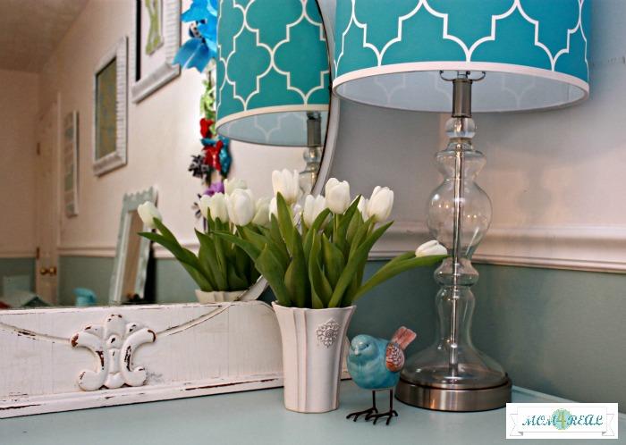 aqua-painted-dresser-ribbon-pulls-handles1