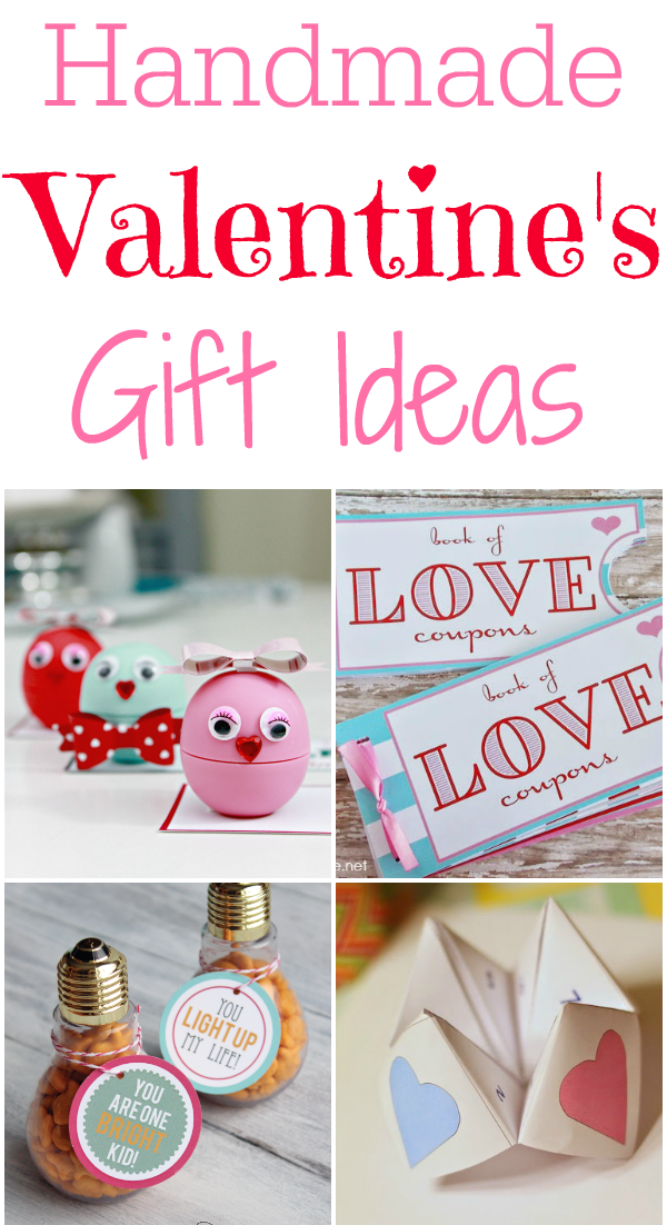 33 Handmade Valentines Gift Ideas Mom 4 Real
