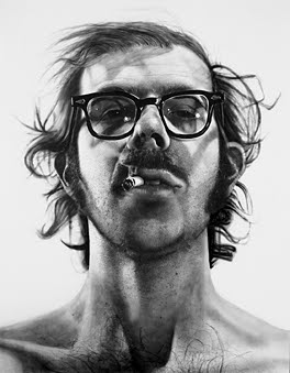 Chuck Close Self Portrait