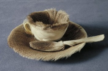 Object, Meret Oppenheim, 1936 Surrealist assemblage