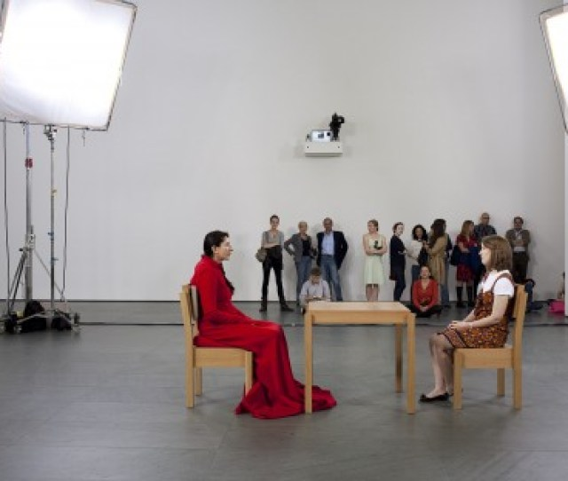 The Artist Is Present Marina Abramovic Yugoslav Born 1946 2010 Performance