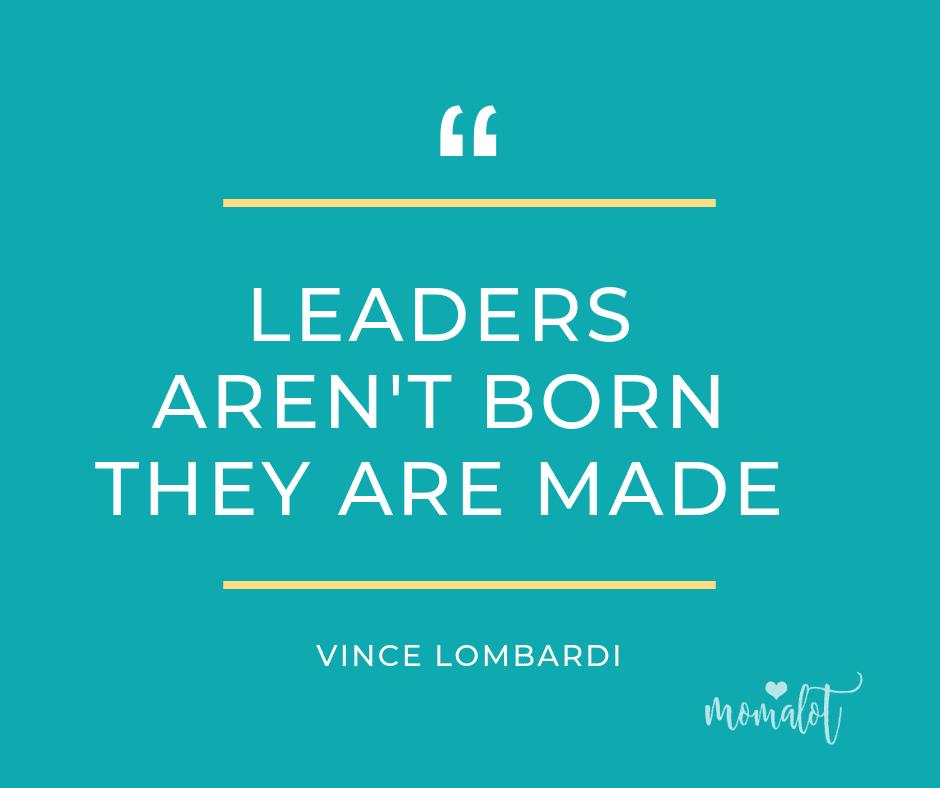 Leaders aren't born they are made - vince lombardi - quote