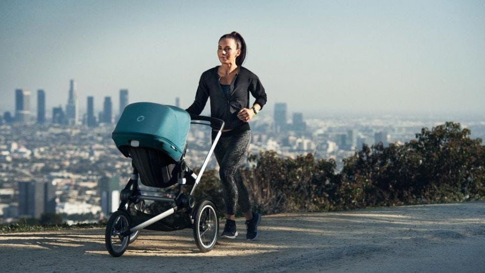 Rennen achter de kinderwagen