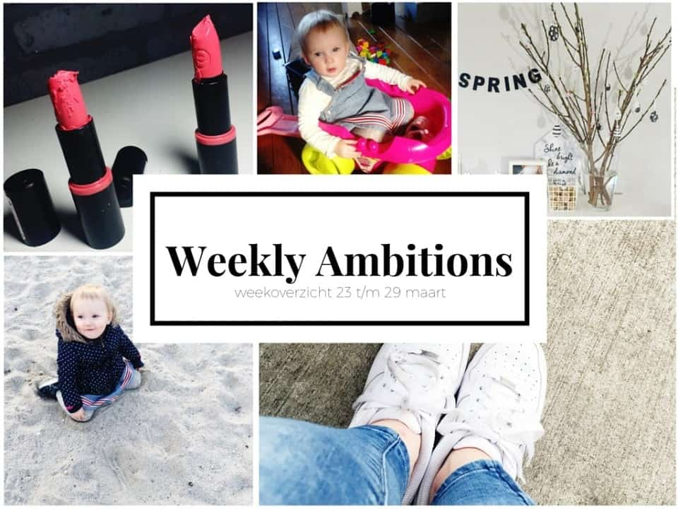 weekly ambitions