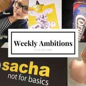 Weekly Ambitions #1 | Een nieuwe baan!