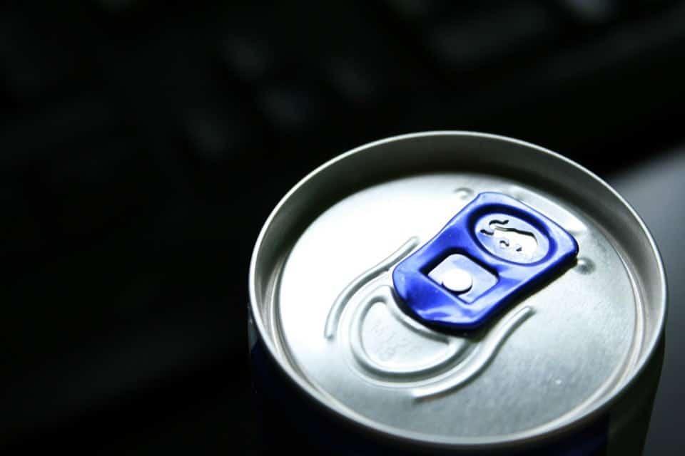 verslaafd aan Red Bull