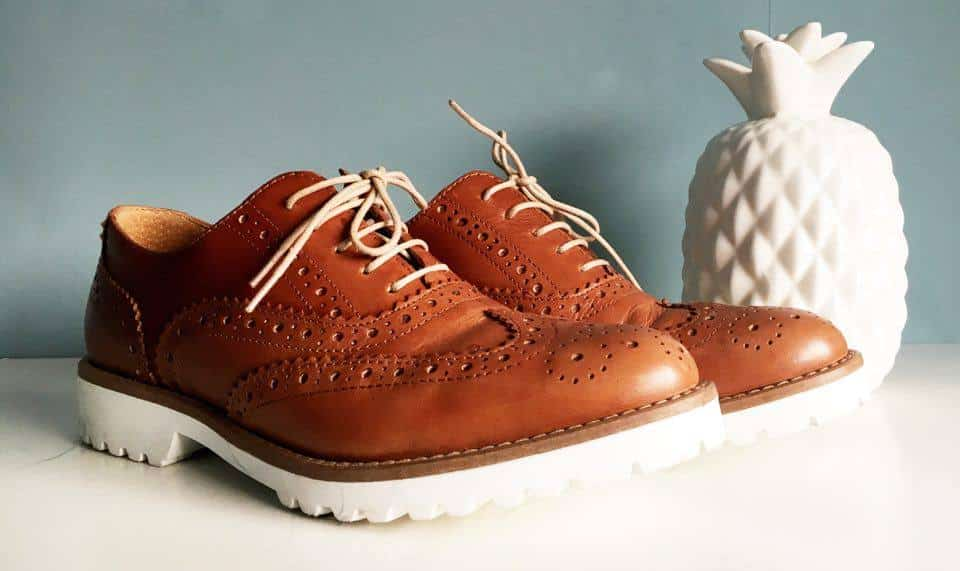 veterschoenen, manfield, brogues