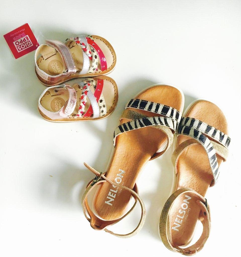 moeder en dochter sandalen nelson