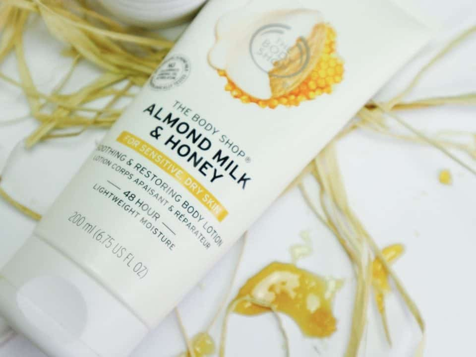 The Body Shop Almond Milk & Honey review