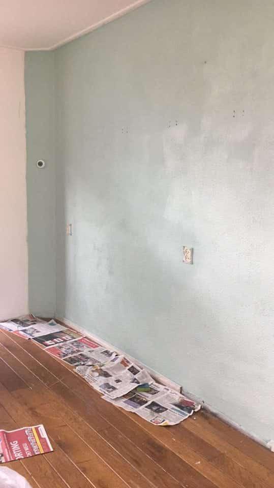 Woonkamer makeover #1   Een groene muur?   Momambition.nl