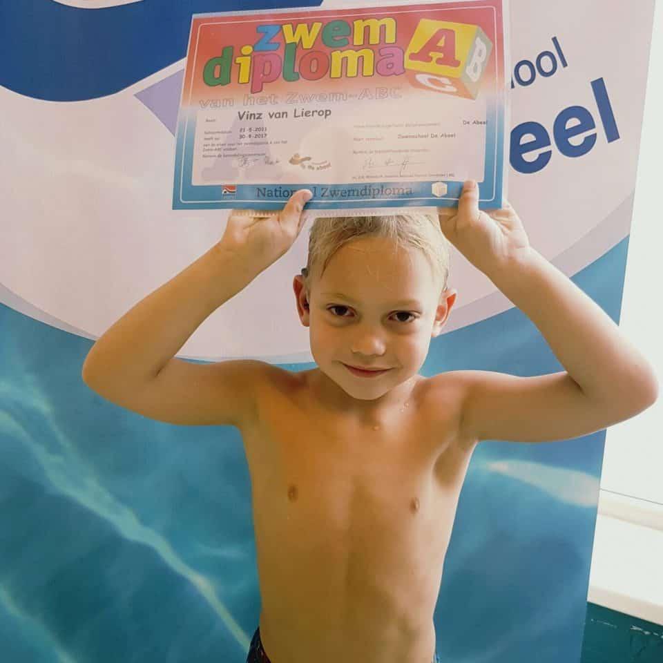 zoektocht zwemles doof kind
