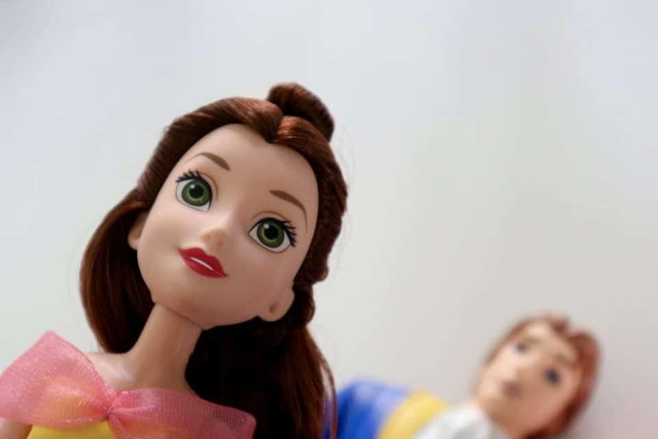 Disney Princess Poppen Belle en het Beest Deluxe speelset review