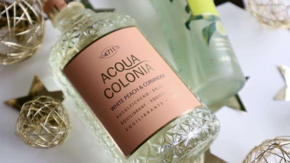 Kölnisch Wasser 4711 ACQUA COLONIA White Peach & Coriander LIME & NUtmeg review parfum