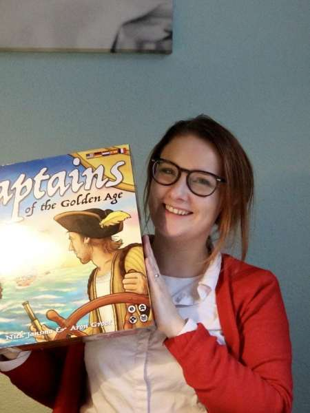 Captains of the Golden Age, hét strategische bord spel voor de feestdagen!