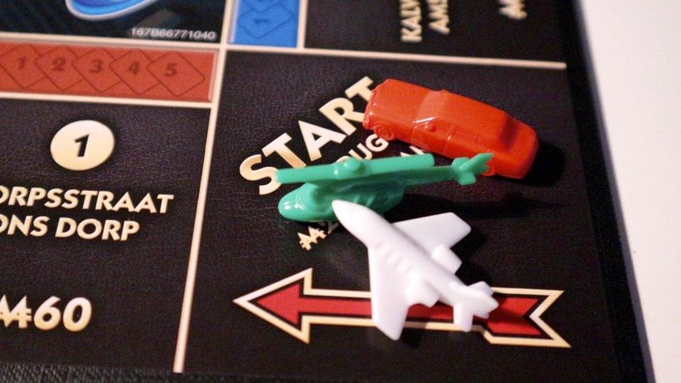 hasbro spellen pakket monopoly extreem bankieren
